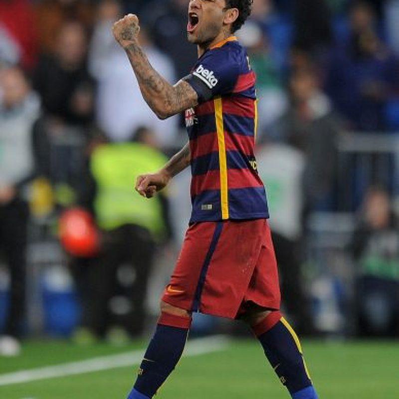 Dani Alves (Barcelona) Foto:Getty Images
