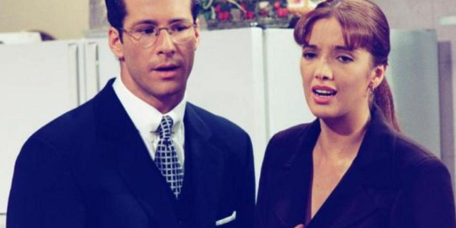 """Fue inolvidable en """"Maria Isabel"""", al lado de Adela Noriega. Foto:vía Televisa"""