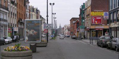 Roubaix se encuentra en la parte norte de Francia Foto:Vía Wikipedia Commons