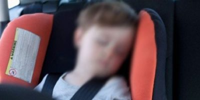4. Según Safe Kids, 30 niños mueren cada año cuando están solos en el auto. Foto:Vía Pinterest