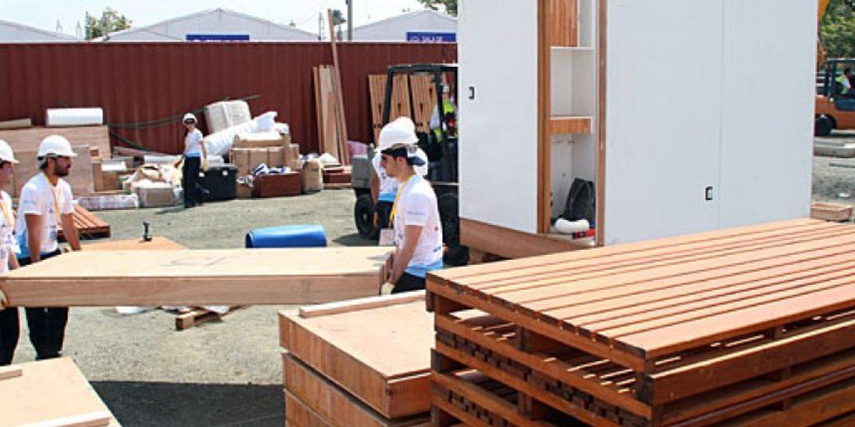 Ya comenzaron a construirse las casas del futuro en el Solar Decathlon