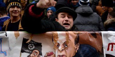 """Estados Unidos y Europa insistieron en que existan conversaciones para """"calmar"""" Foto:AFP"""