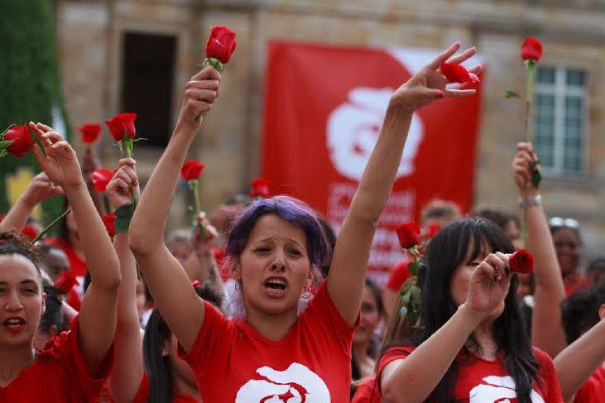 Así danzaron las mujeres Foto:Juan Pablo Pino/Publimetro