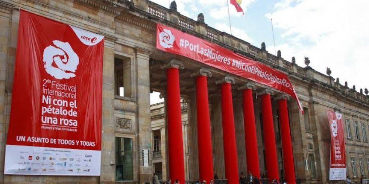 Así se celebró el Día Internacional de la Eliminación de la Violencia contra la Mujer en Bogotá