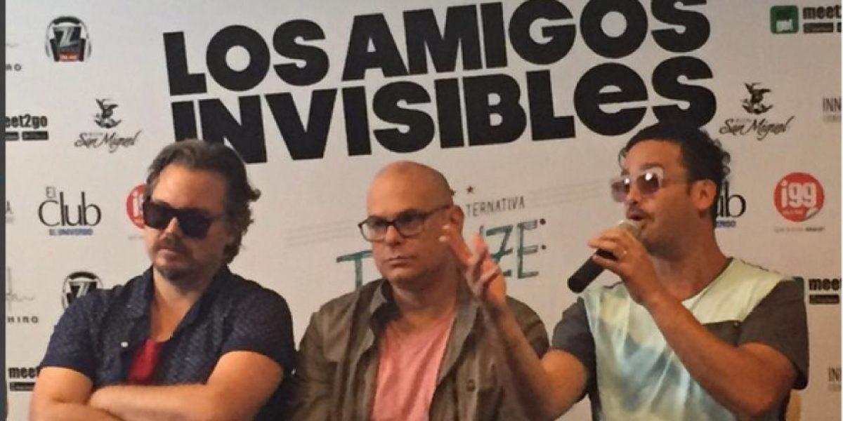 La gozadera de Los Amigos Invisibles llega nuevamente a Bogotá