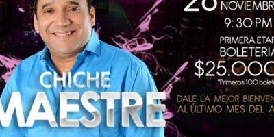 Concierto vallenato con Chiche Maestre. Foto:Tomada de Facebook Madam by Carito