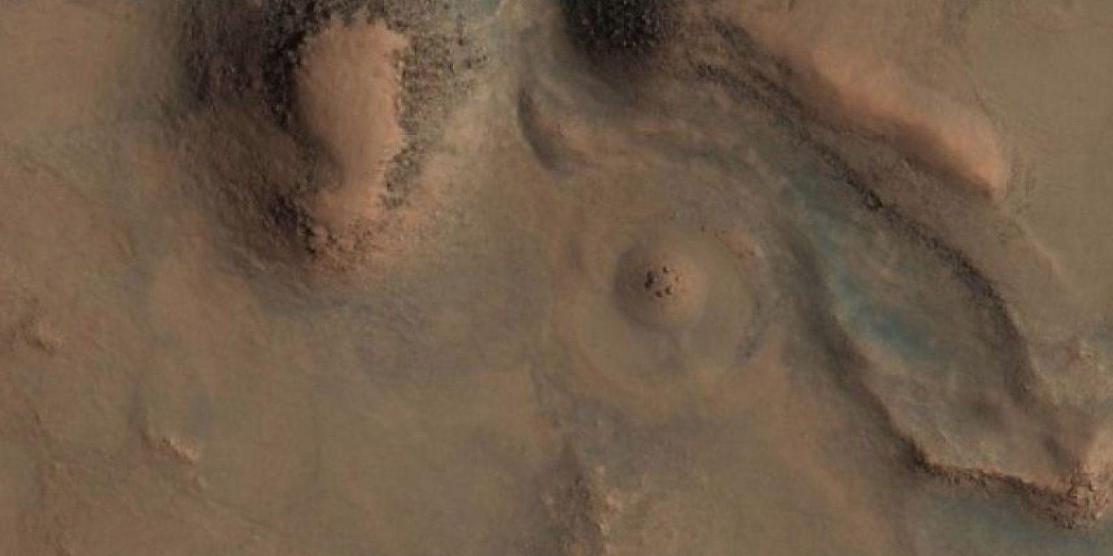 Esta es la imagen difundida por la agencia espacial Foto:http://hirise-pds.lpl.arizona.edu/PDS/EXTRAS/RDR/ESP/ORB_028800_028899/ESP_028891_2085/ESP_028891_2085_RGB.NOMAP.browse.jpg
