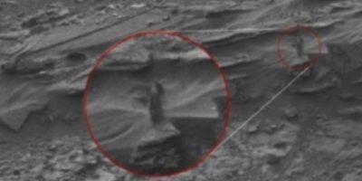 "Una mujer ""mostrando su escote"" Foto:NASA"