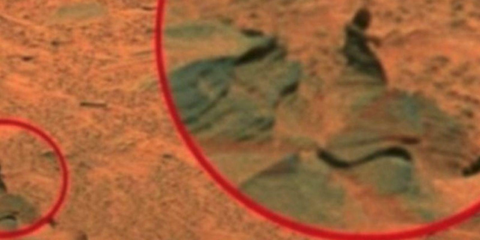 Una mujer Foto:NASA