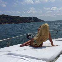 En sus ratos libres, Alejandra también disfruta de las exclusivas playas de México. Foto:vía instagram.com/missale_xo