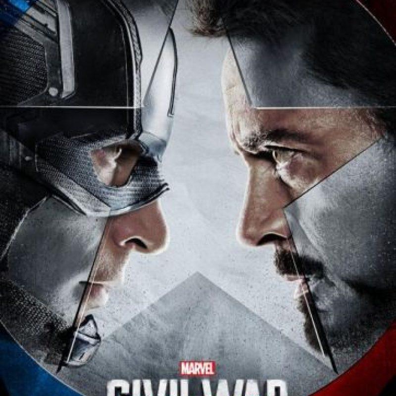 """La batalla entre """"Iron Man"""" y """"Capitán América"""" está a punto de comenzar. Foto:Marvel"""