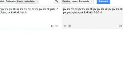 """8- Para disfrutar de la música, nada mejor que un Dj con solamente sonidos bocales. En el traductor de Google escriban """"pv zk pv pv zk pv zk kz zk pv pv pv zk pv zk zk pzk pk pvzkpkzvpzk kkkkkk bsch"""" y den click al ícono de la bocina en la parte inferior. Foto:Google"""