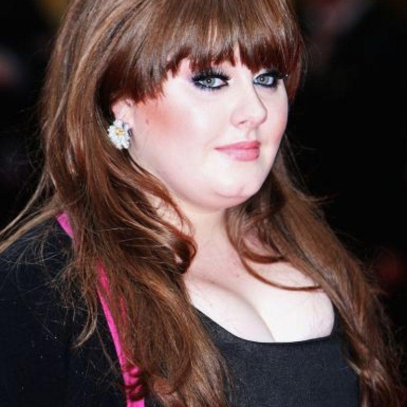 """""""21"""" fue el disco que concedió la fama mundial a Adele y el cual lanzó en 2011. Foto:Getty Images"""