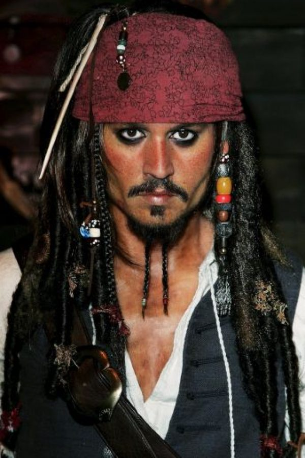 Así luce el verdadero Jack Sparrow.