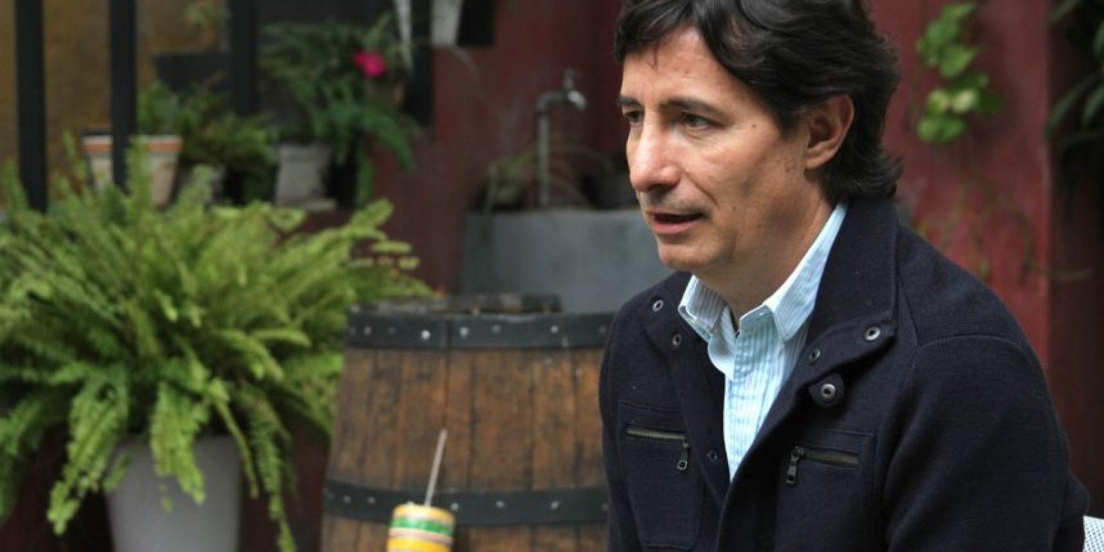"""El hijo de """"Chespirito"""" habló con este medio. Foto:Nicolás Corte"""