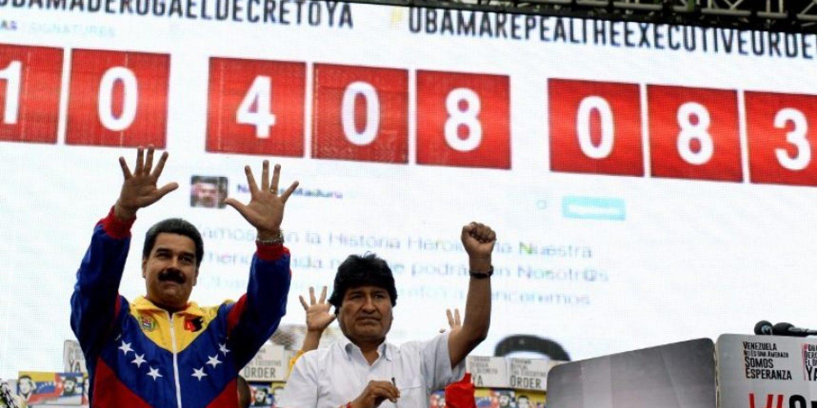 """En septiembre, el secretario de la administración Obama, John Kerry, llamó a la canciller venezolana Delcy Rodríguez con el fin de """"regularizar las relaciones diplomáticas"""" entre ambos países Foto:AFP"""