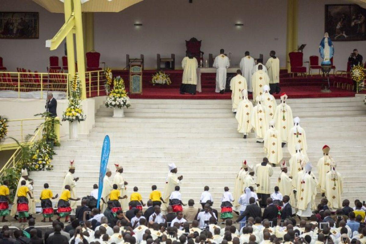 Francisco hizo un fuerte llamado a favor de los valores familiares. Foto:AFP