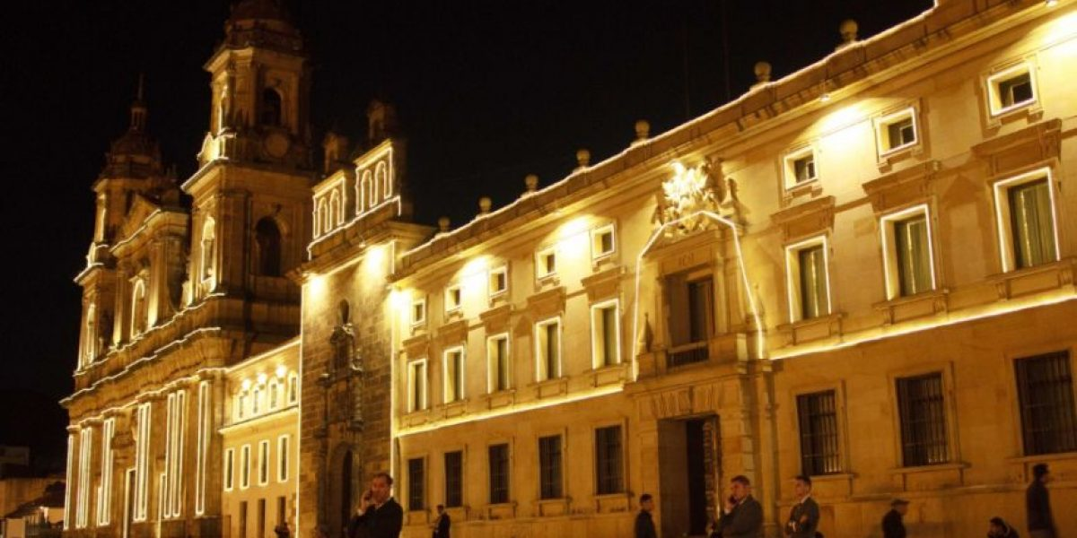 ¡Se encienden las luces navideñas en Bogotá!