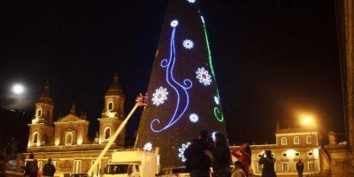 Árbol navideño Foto:Juan Pablo Pino/Publimetro