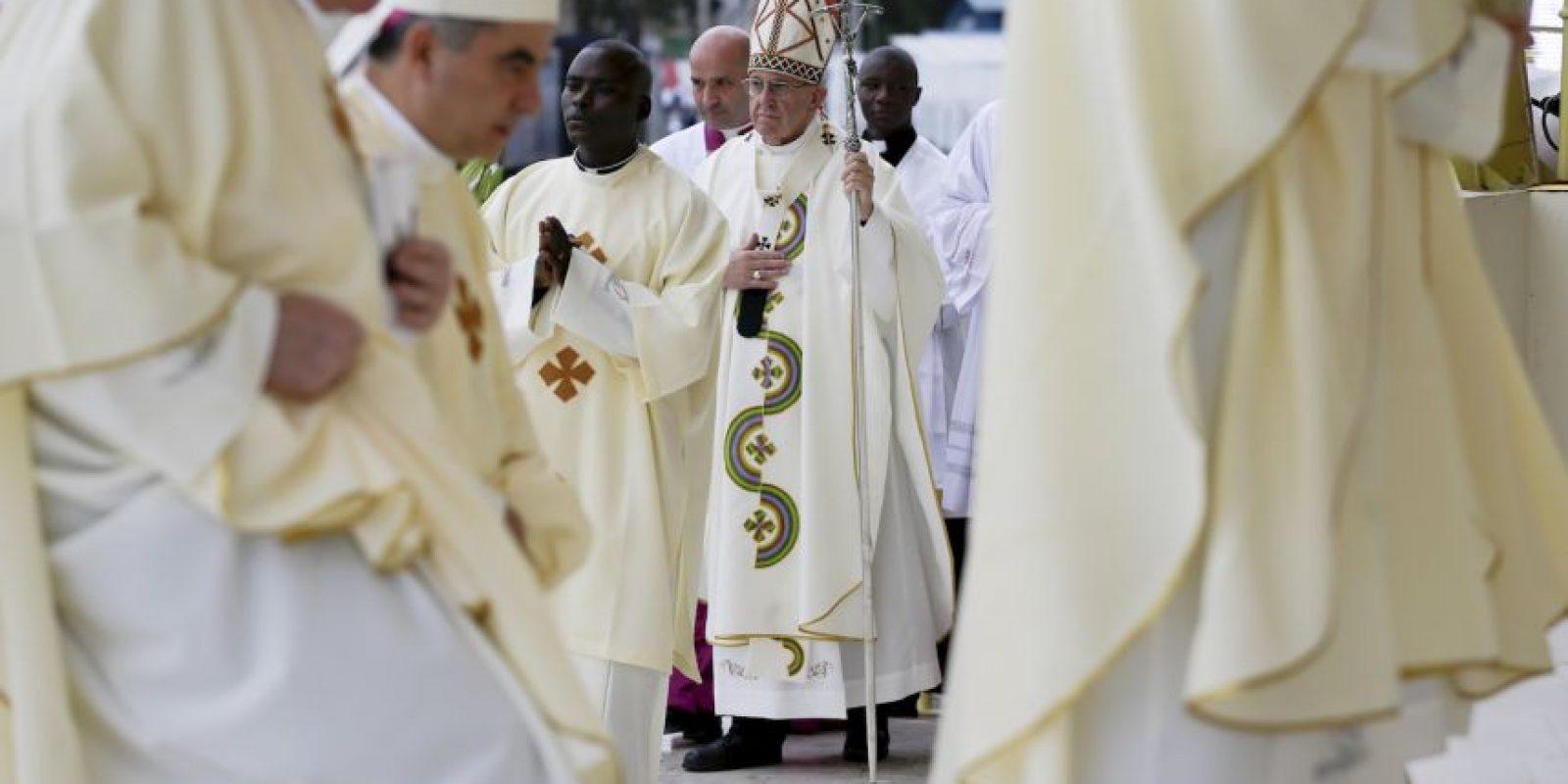 Este es el primer viaje del papa Francisco a África Foto:AP