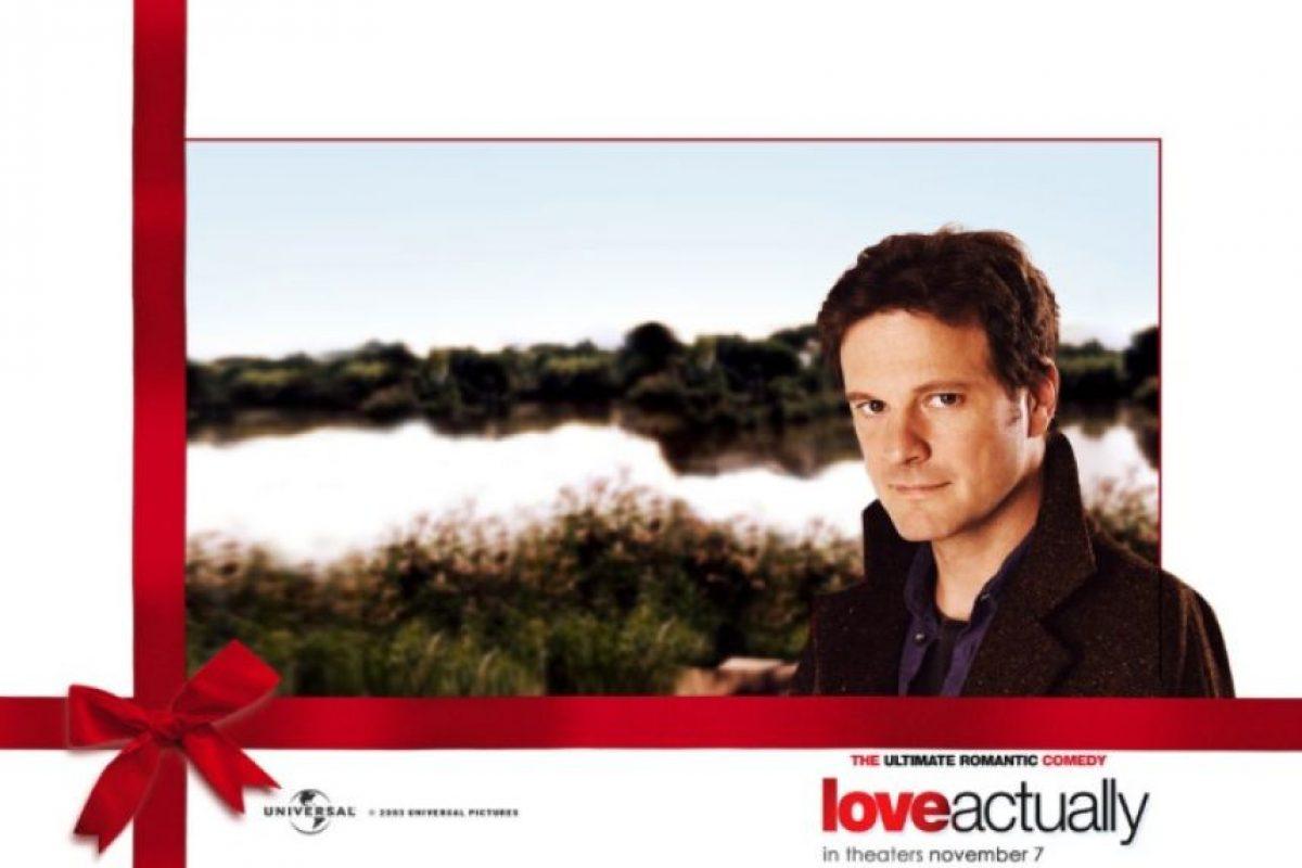 Colin Firth le dio vida a un escritor. Foto:Universal Pictures