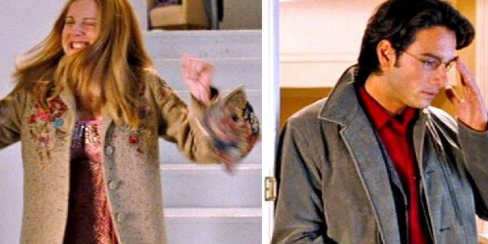 Laura Linney fue la mujer que se enamoró de su compañero de trabajo (Rodrigo Santoro) en secreto. Foto:Universal Pictures