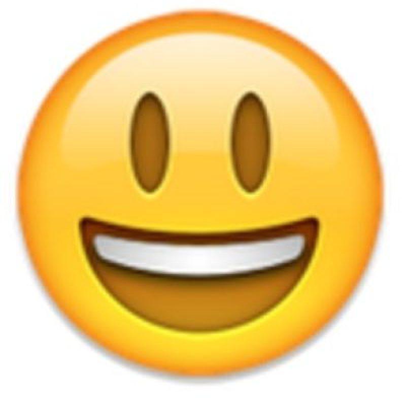 Carita feliz. Foto:vía emojipedia.org