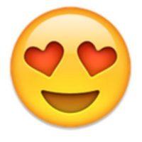 Ojos de corazón. Foto:vía emojipedia.org