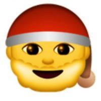 Santa Claus. Foto:vía emojipedia.org