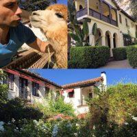 Michael Lucas durante su estancia en la mansión. Foto:instagram.com/michaellucasnyc