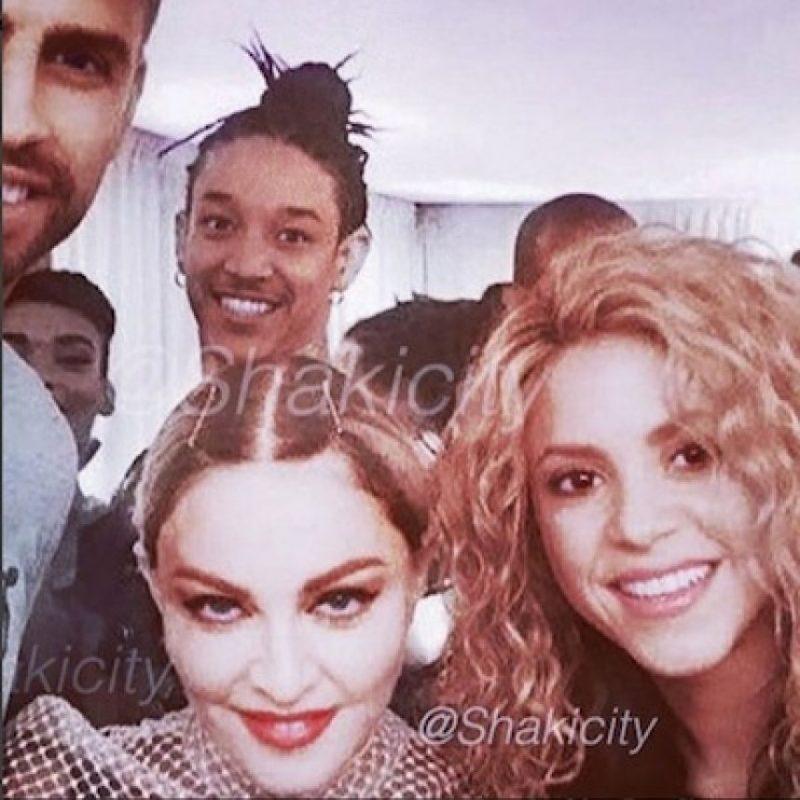 Shakira y Gerard Piqué Foto:Instagram/Madonna
