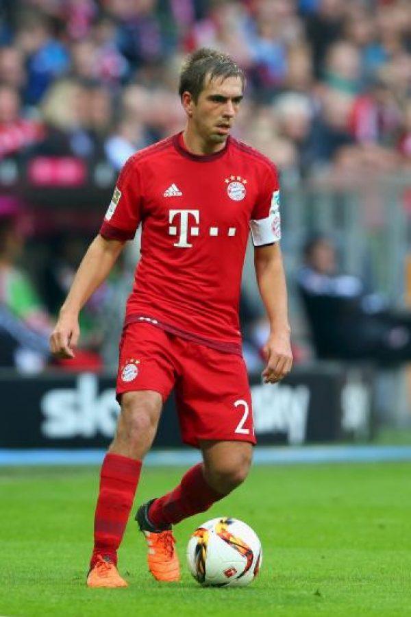 Philipp Lahm (Alemania, Bayern Múnich, 32 años) Foto:Getty Images