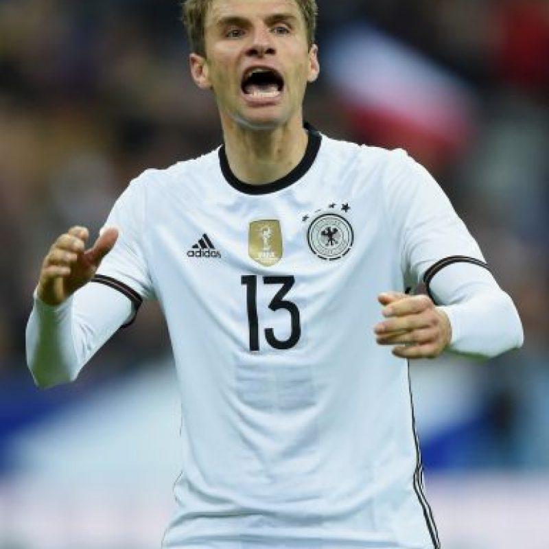 Thomas Müller (Alemania, Bayern Múnich, 26 años) Foto:Getty Images