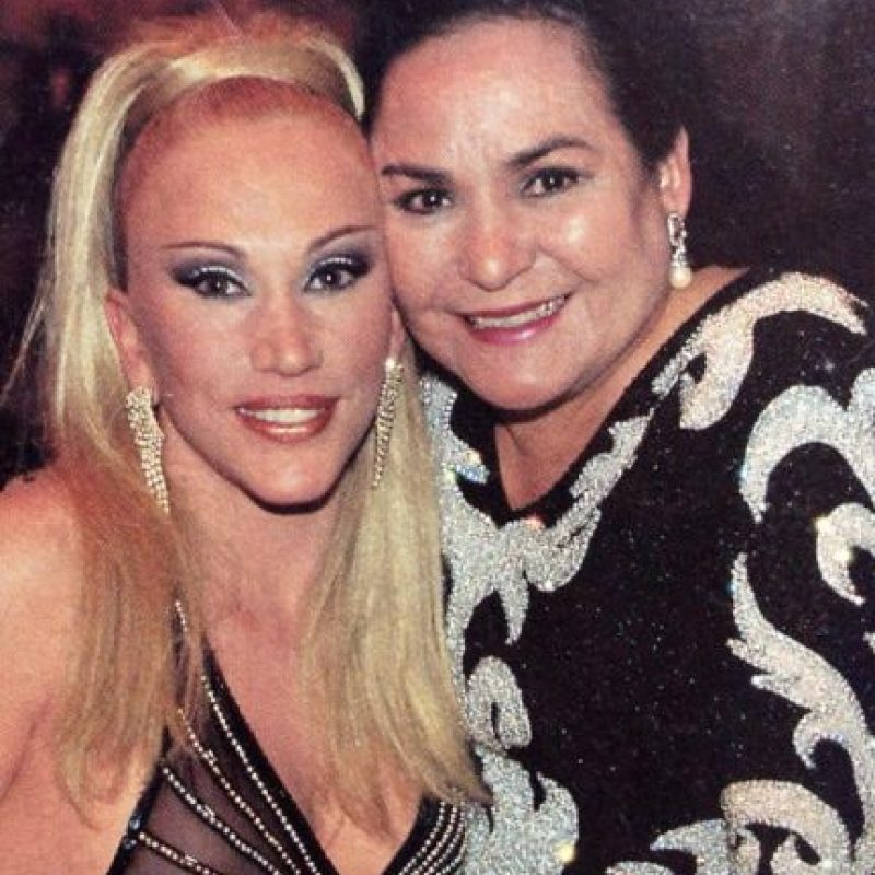 """Luego actuó en la reconocida novela """"El Premio Mayor"""". Foto:vía Facebook/Laura León """"La Tesorito"""""""