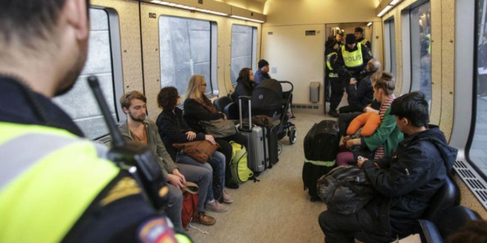 Estimaciones señalan que el país recibió 190 mil refugiados en todo el año. Foto:AFP