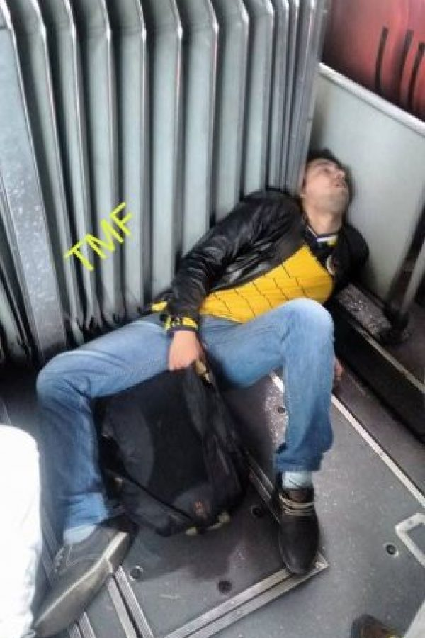Una siestica Foto:Transmileniada Fotográficas Facebook