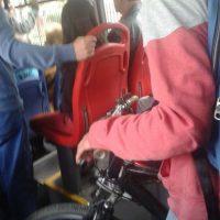 """""""Vamos al Transmi en bici"""" Foto:Transmileniada Fotográficas Facebook"""