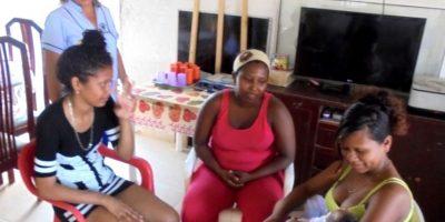 Catia, una mujer de gran corazón que trabaja día a día a favor de las familias.