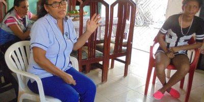 Catia ha dedicado más de 12 años de su vida a su comunidad.