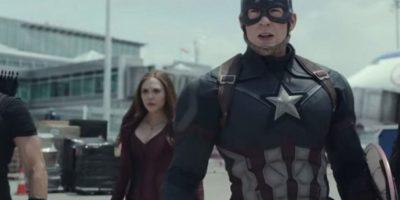 """Los protagonistas de """"Capitán América: Civil War"""" presentaron el primer tráiler oficial de la cinta que llegará a la pantalla grande el próximo 6 de mayo de 2016. Foto:Marvel"""