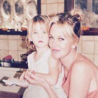 Es la tercera hija de Griffith. Foto:vía instagram.com/melanie_griffith57