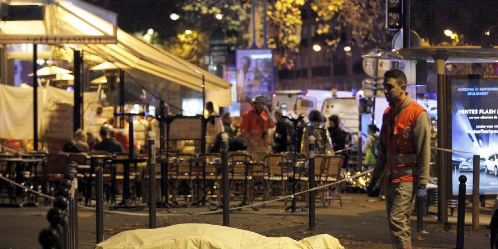 130 personas murieron en los atentados en París. Foto:Getty Images