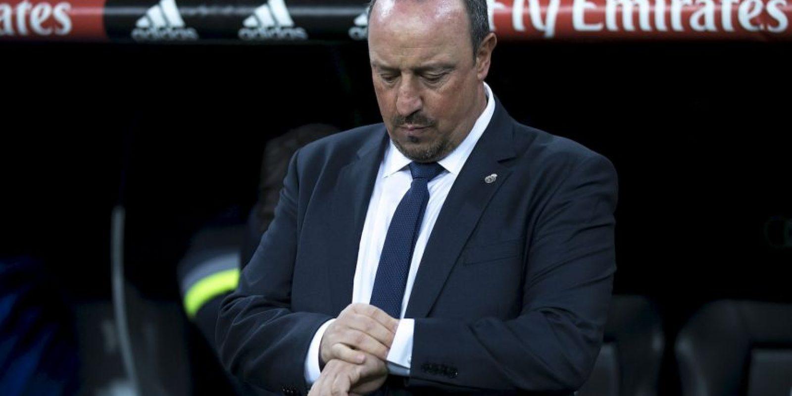Se rumora que el DT Rafa Benítez no tiene buena relación con muchos de los referentes del equipo Foto:Getty Images