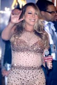 Mariah Carey es la reina del mal gusto. A veces más vulgar que Kim Kardashian. Foto:vía Getty Images