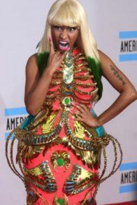 Nicki Minaj tuvo una época en la que la extravagancia llegaba al disfraz. Foto:vía Getty Images