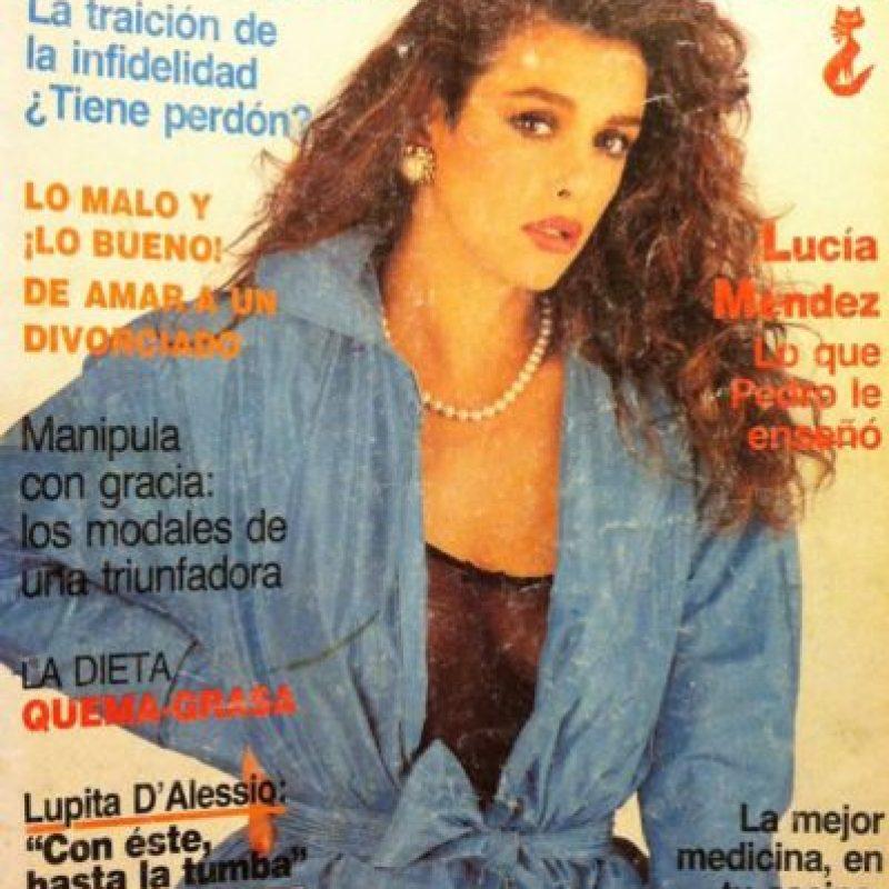 """Para 1988 estuvo en """"El Extraño Retorno de Diana Salazar"""". Foto:vía Tumblr"""
