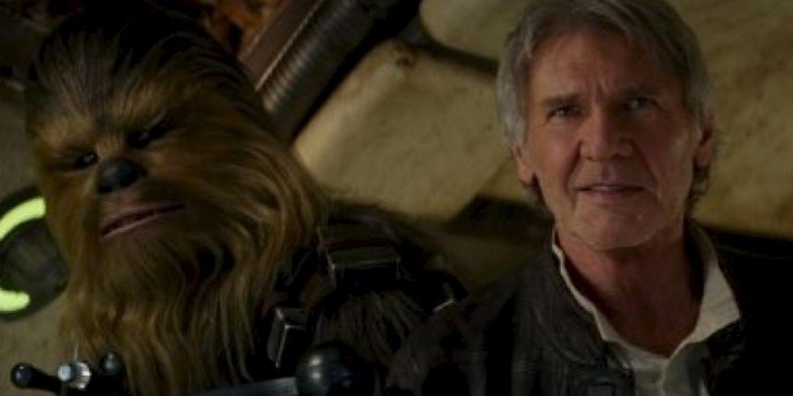 """En esta nueva película volveremos a ver a Harrison Ford interpretando a """"Han Solo"""". Foto:vía LucasFilm"""