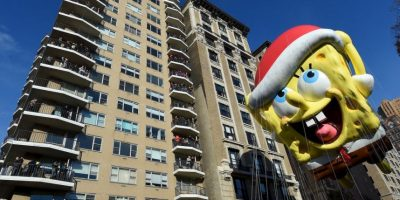 Así se vio el desfile de Macy´s en Nueva York el Día de Acción de Gracias. Foto:AFP