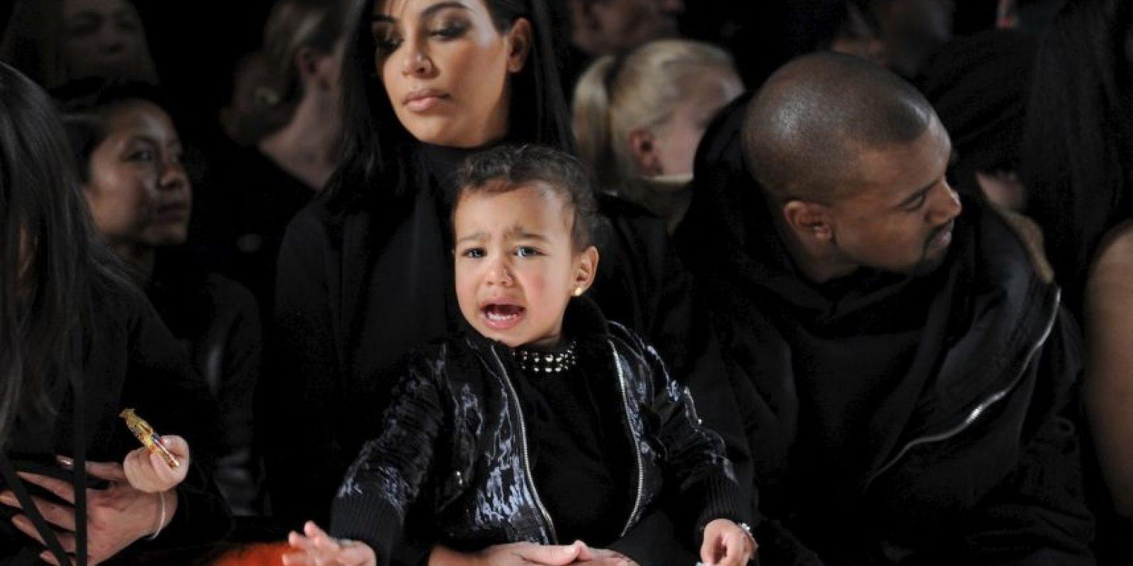 Y para dejar claro que no le gustan los desfiles, días después volvió a llorar en pleno show. Foto:Getty Images