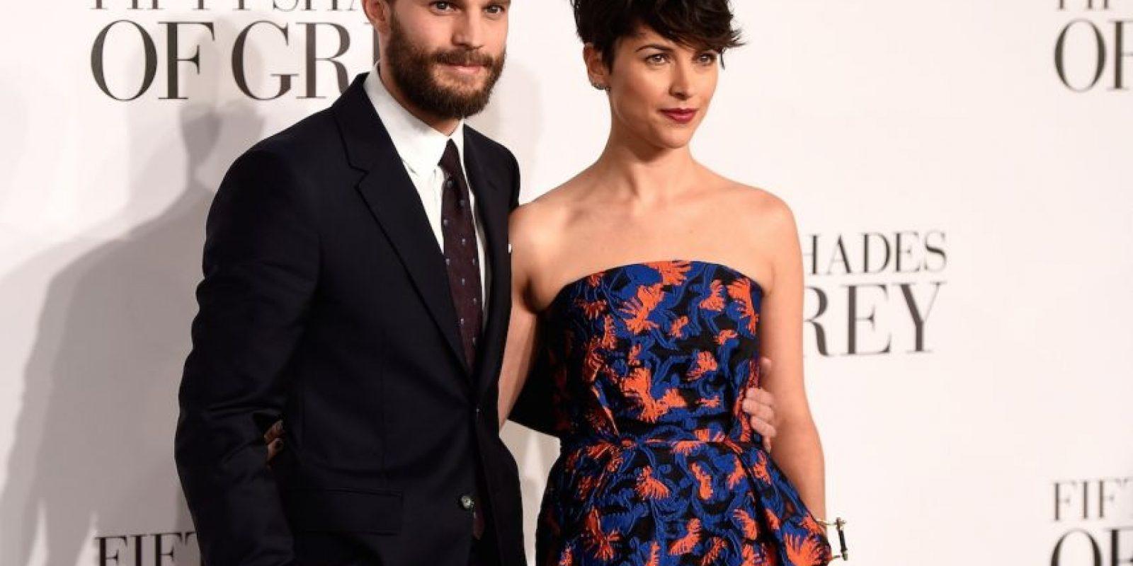 Dornan y Amelia Warner están casados desde 2013. Foto:Getty Images